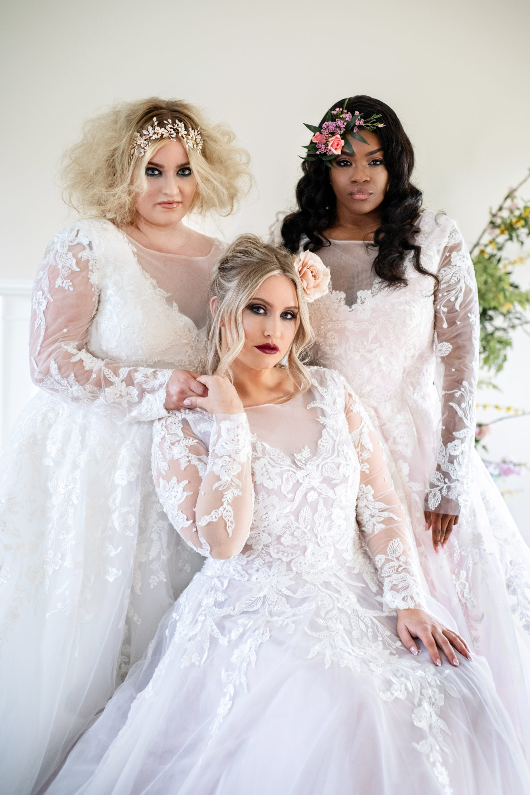 wedding dresses made exclusively for plus size women